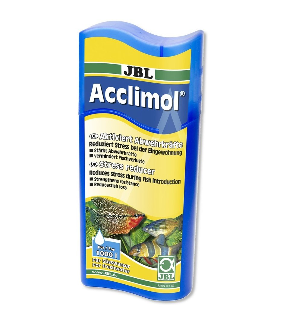 Jbl acclimol 250 ml conditionneur aquarium shop aquariophilie for Jbl aquarium