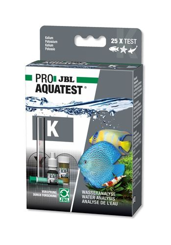 Jbl Set AquaTest K Potassium Douce