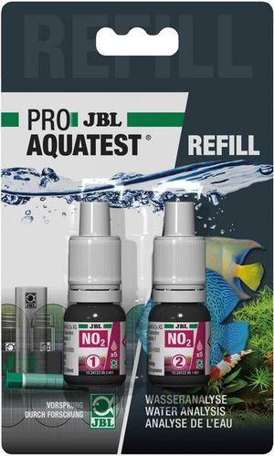 Jbl AquaTest NO2 Remplissage