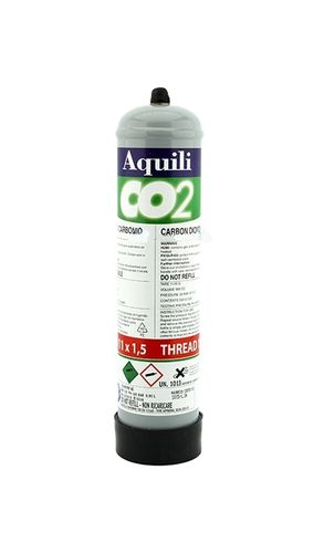 Aquili Bouteille CO2 500g 11x1,5