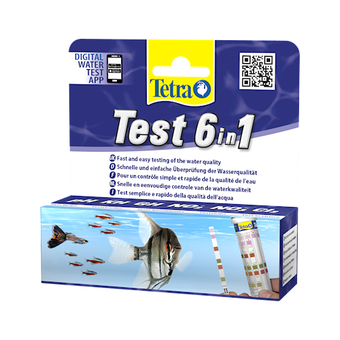 Tetra Test 6 in 1 Bandelettes