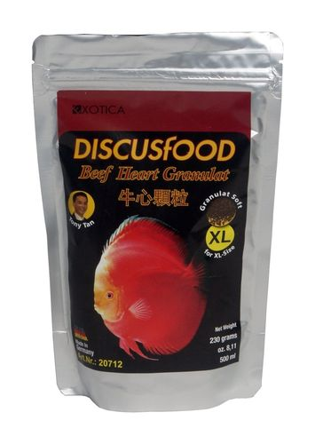 DiscusFood Beef Heart XL 230g