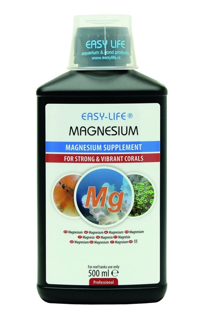 easy life magnesium 500 ml additif pour aquarium de mer mg. Black Bedroom Furniture Sets. Home Design Ideas