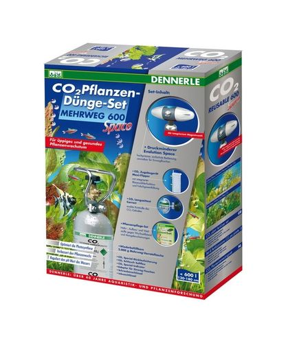 Dennerle CO2 Set Space 600 Rechargeable