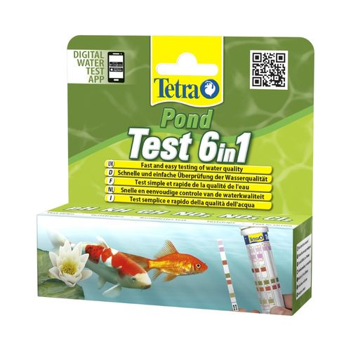 Tetra Test Pond 6 in 1 Bandelettes