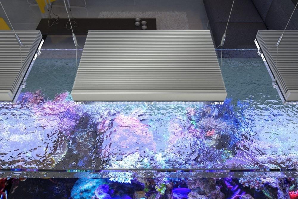 Plafoniere Gnc Bluray : Meerwasser beleuchtung licht led gnc bluray w