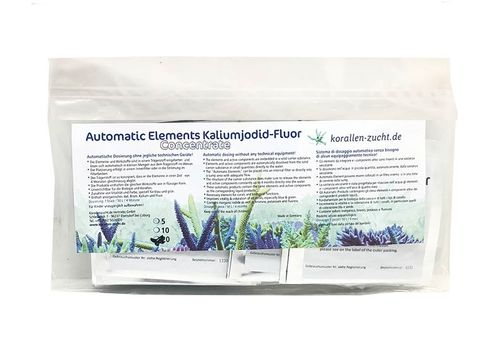 Automatic Elements Kaliumjodid Fluor Concentrate