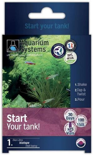 Aquarium Systems Start Your Tank Eau Douce