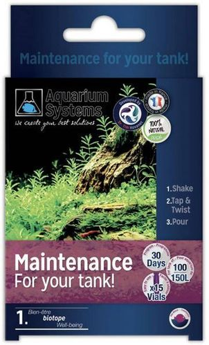 Aquarium Systems Maintenance Eau Douce