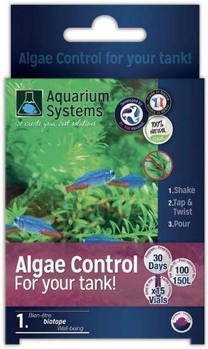 Aquarium Systems Algae Control Eau Douce