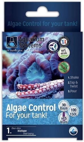 Aquarium Systems Algae Control Eau Marin