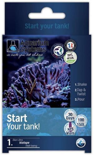 Aquarium Systems Start Your Tank Eau Mer