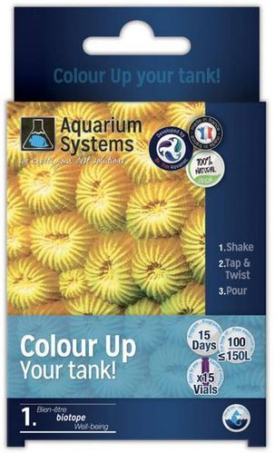 Aquarium Systems Coulor Up Eau Marin