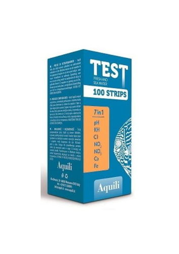 Aquili Test 7 in 1 Bandelettes Marin 100pcs